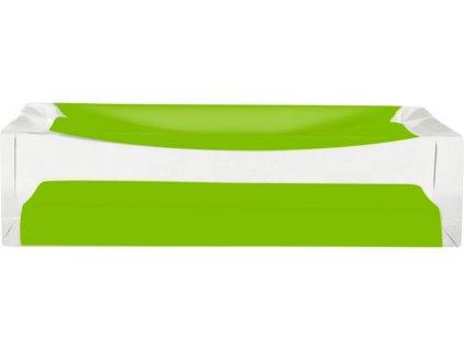 CUBE - Miska na mýdlo, zelená, z22280305, 8590507326106, 64