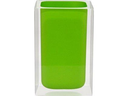 CUBE - Kelímek na kartáčky, zelený, z22280105, 8590507326052, 64