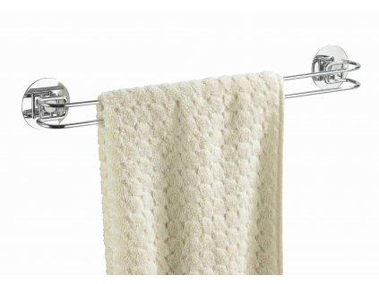 BEZ VRTÁNÍ TurboLoc - věšák na ručníky, chrom, z18769100, 4008838187692, 64