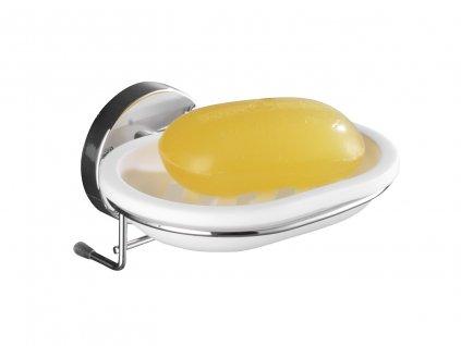BEZ VRTÁNÍ VacuumLoc MILAZZO - Miska na mýdlo, lesklá, z20882100, 4008838208823, 64