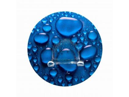 BEZ VRTÁNÍ StaticLoc DUO AQUA - nástěnný háček, modrý, z20199100, 4008838201992, 64