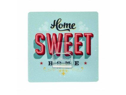 HOME SWEET HOME - Věšák na kabelky, modrý, z50451100, 4008838682432, 64