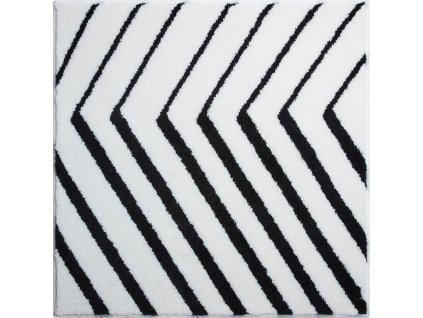 Čtvercová předložka bílá, Polyakryl SuperSoft, STRIPE, b2792-054001032, 8590507361497, 64