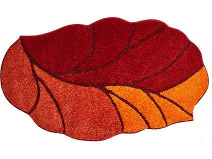 Koupelnová předložka oranžová, Polyakryl SuperSoft, AOSTA