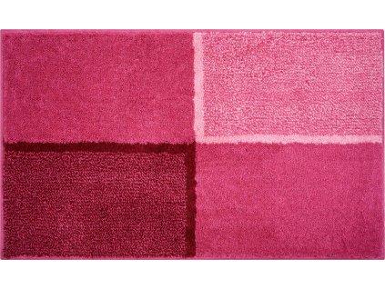 Koupelnová předložka růžová, Polyakryl SuperSoft, DIVISO