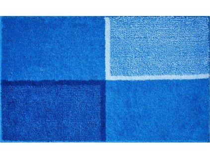 Koupelnová předložka modrá, Polyakryl SuperSoft, DIVISO