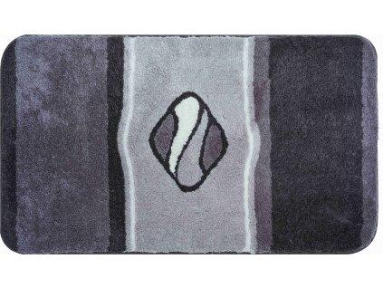 Koupelnová předložka šedá, Polyakryl UltraSoft, JEWEL