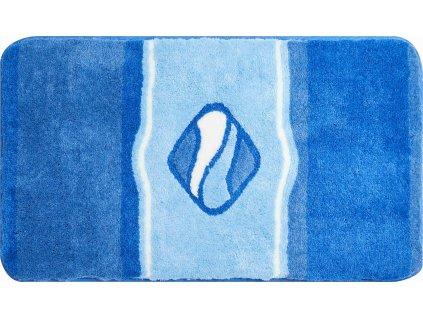 Koupelnová předložka modrá, Polyakryl UltraSoft, JEWEL