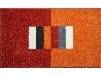 Koupelnová předložka oranžová, Polyakryl SuperSoft, CAPRICIO