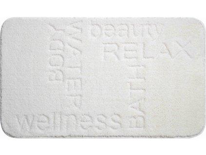 Koupelnová předložka bílá, Polyakryl MagicSoft, FEELING