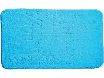Koupelnová předložka modrá, Polyakryl MagicSoft, FEELING