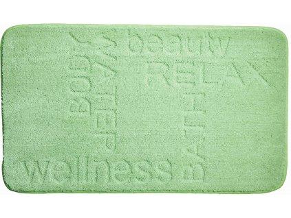 Koupelnová předložka zelená, Polyakryl MagicSoft, FEELING