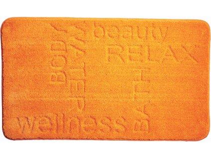 Koupelnová předložka oranžová, Polyakryl MagicSoft, FEELING