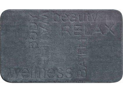 Koupelnová předložka šedá, Polyakryl MagicSoft, FEELING