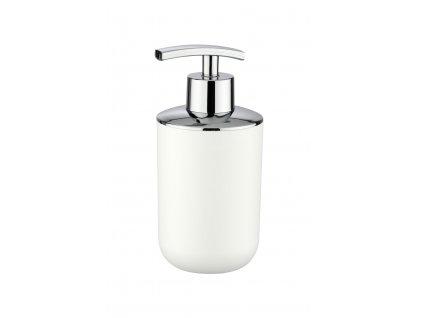 BRASIL - Dávkovač mýdla 8x9x17 cm, bílý
