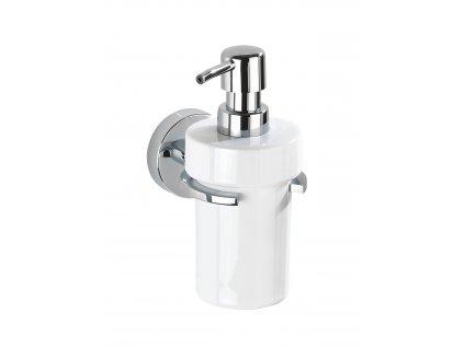 BEZ VRTÁNÍ VacuumLoc CAPRI - Dávkovač mýdla, bílý