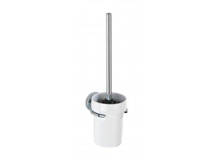 BEZ VRTÁNÍ VacuumLoc CAPRI - WC štětka, bílá