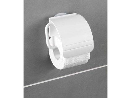 BEZ VRTÁNÍ StaticLoc OSIMO - Držák WC papíru, bílý