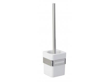 BEZ VRTÁNÍ Premium Plus - WC štětka, kovově lesklá