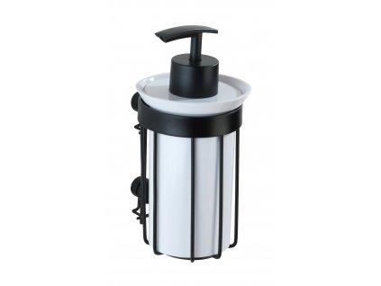BEZ VRTÁNÍ Classic Plus - Dávkovač mýdla, černý