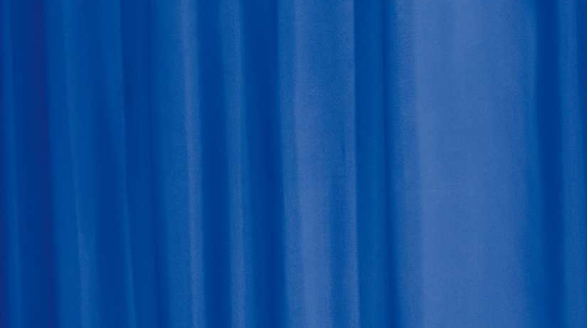 GRUND Sprchový závěs ROM UNI modrý 180x200 cm