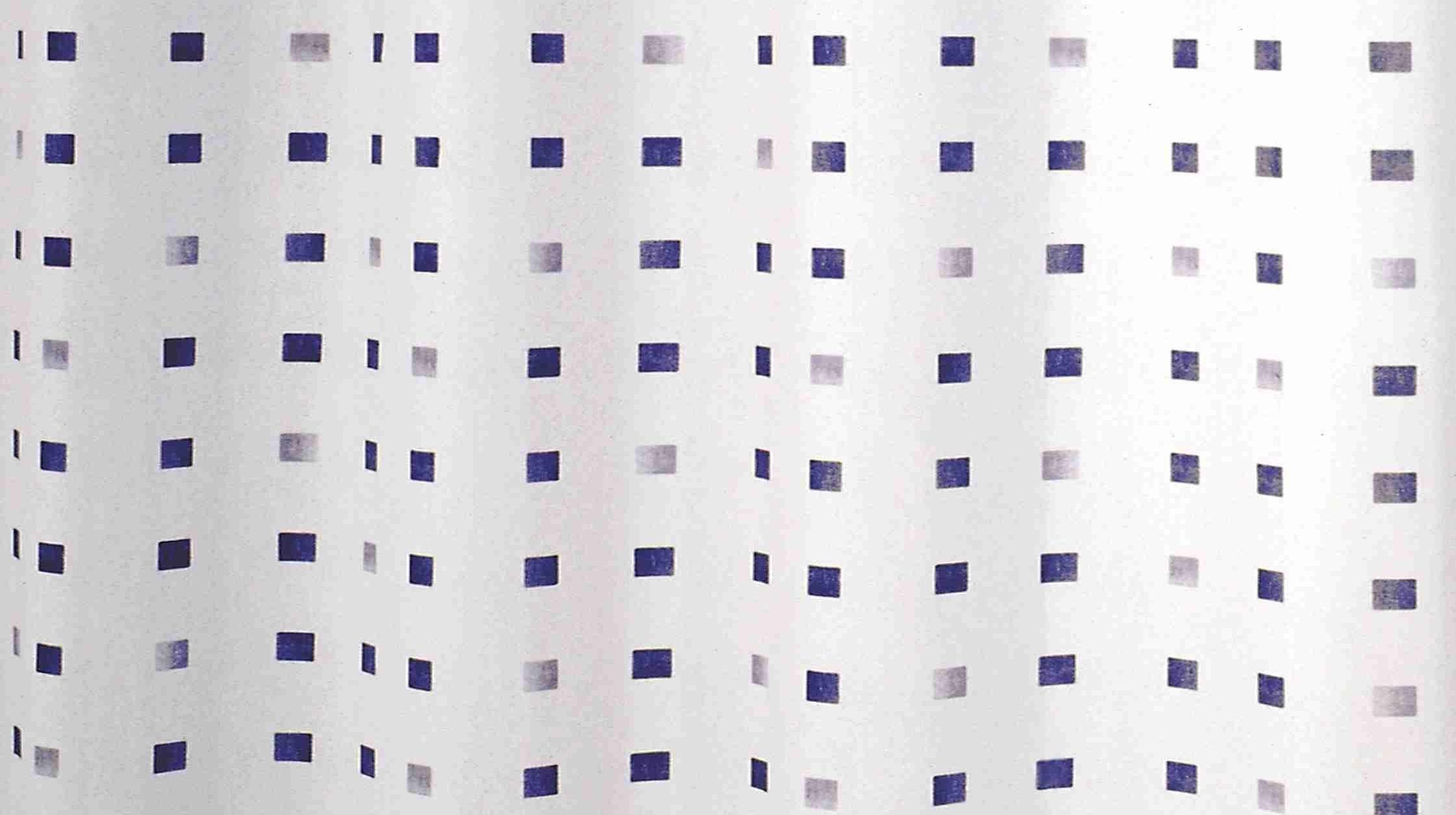 GRUND Sprchový závěs PIAZZE modrý 180x200 cm