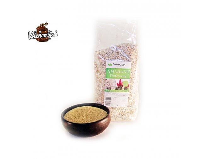 surovina amarant pufovany