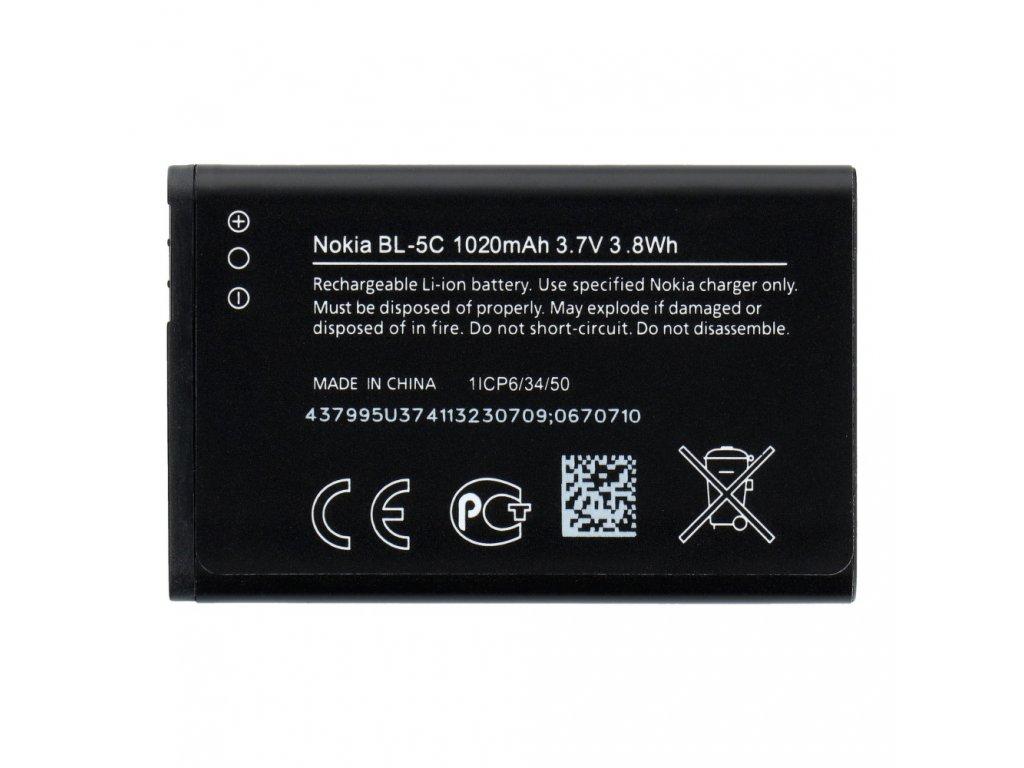 826 2 baterie nokia bl 5c 1020 mah original new bulk