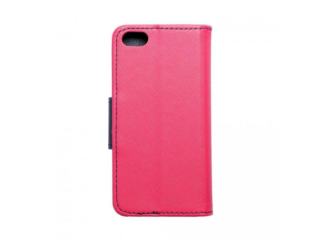 25528 fancy pouzdro book apple iphone 5 5s modro ruzove
