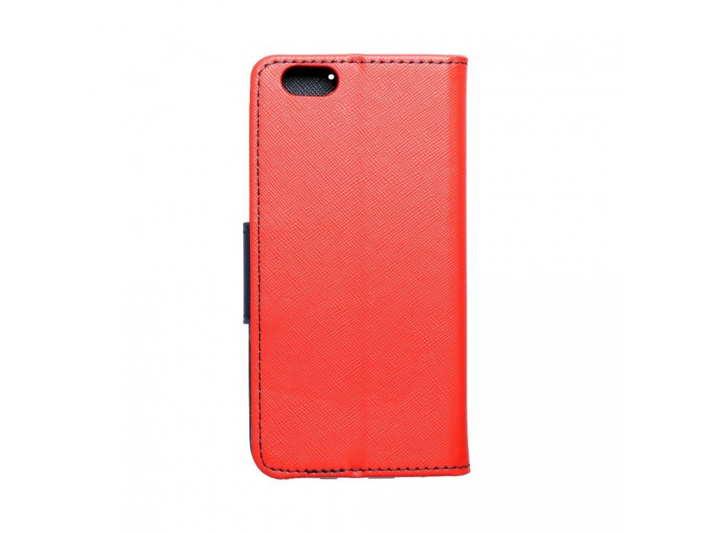 1588 1 fancy pouzdro book apple iphone 6 modro cervene