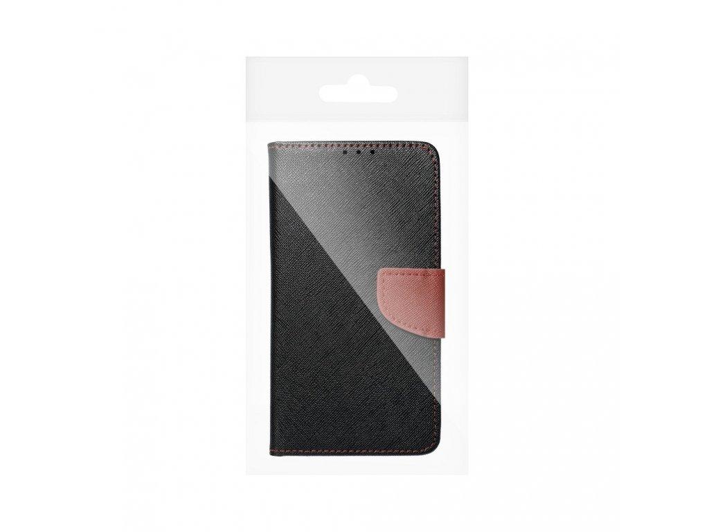8527 fancy pouzdro book samsung g935f galaxy s7 edge hnedo cerne