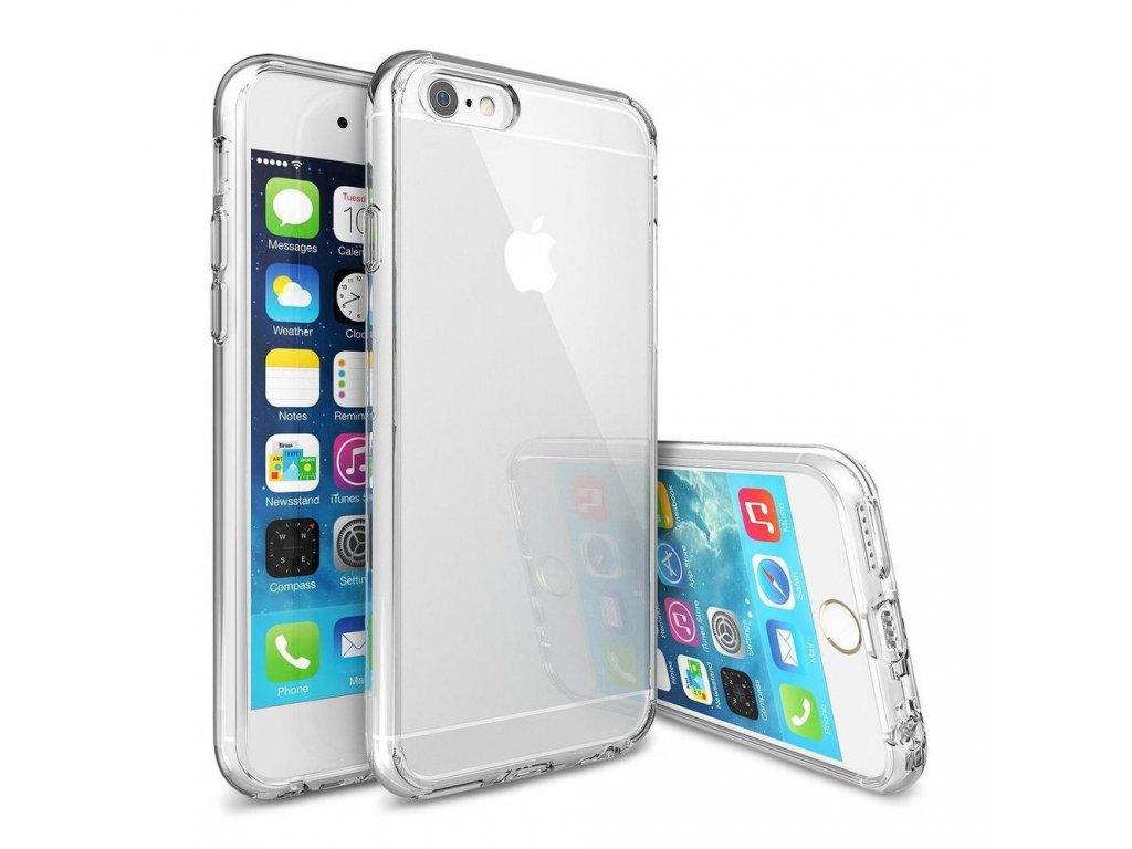71668 2 forcell pouzdro back ultra slim 0 5mm pro apple iphone 6 6s plus transparentni