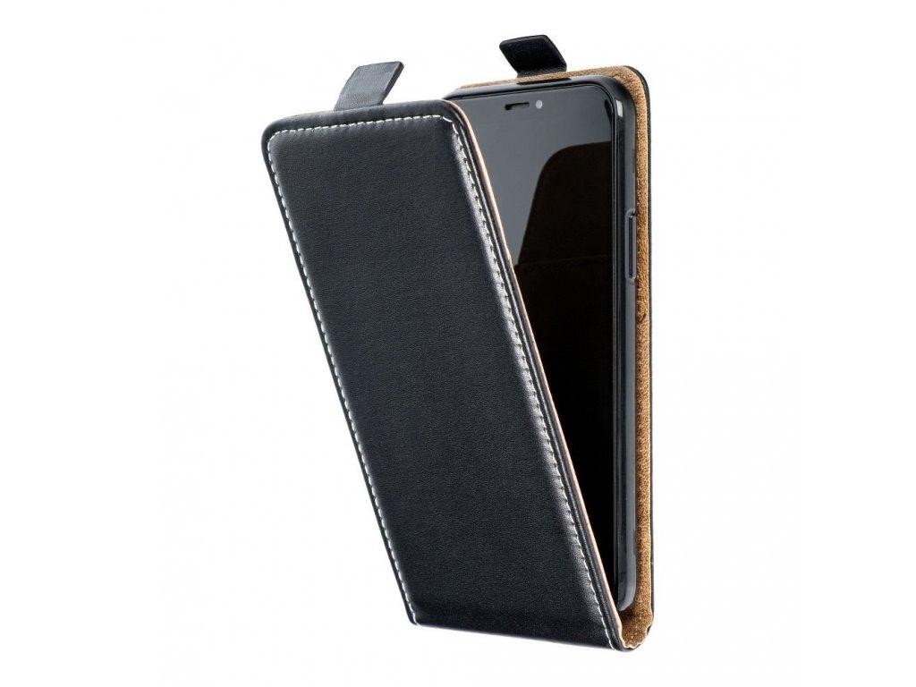 49784 forcell pouzdro slim flip flexi fresh pro apple iphone 7 plus cerne
