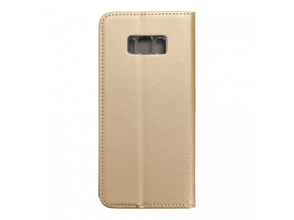 69003 2 forcell pouzdro smart case book pro samsung galaxy s8 edge zlate
