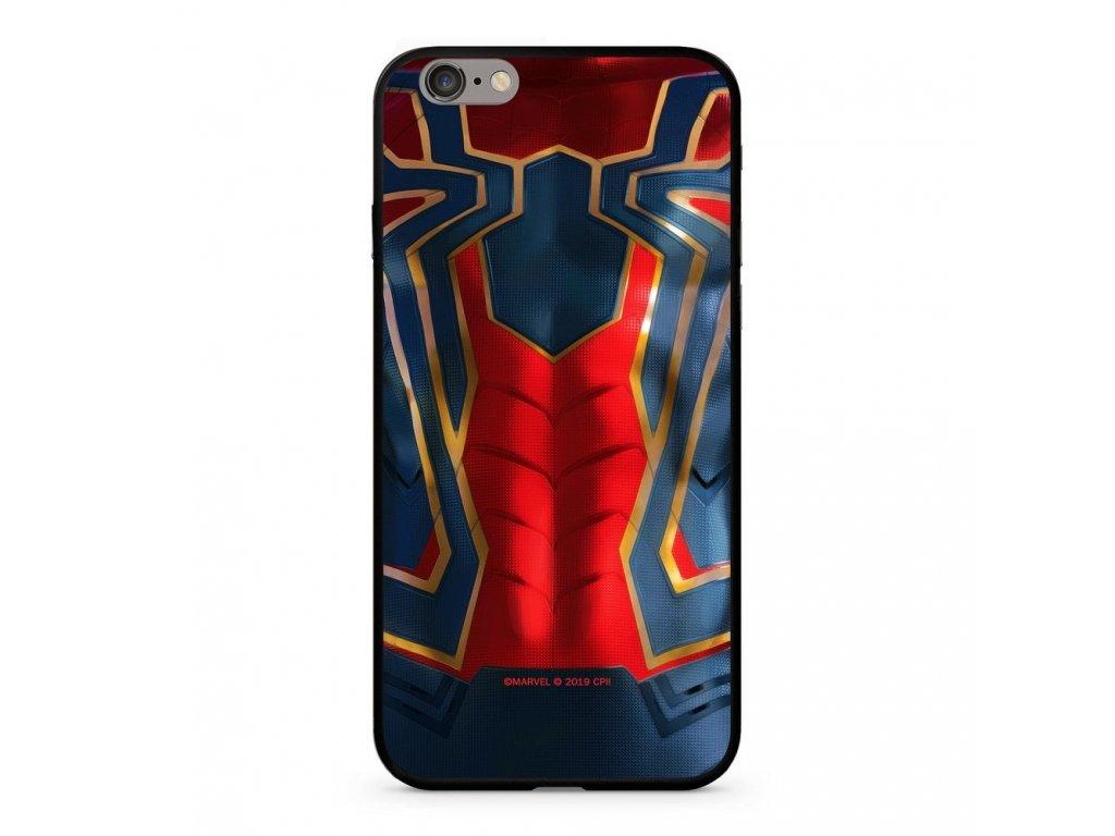 123122 licencovane pouzdro apple iphone 6 plus 6s plus spiderman premium glass multicolor vzor 016