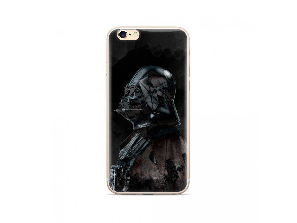120878 licencovane pouzdro apple iphone xr 6 1 star wars darth vader cerne vzor 003