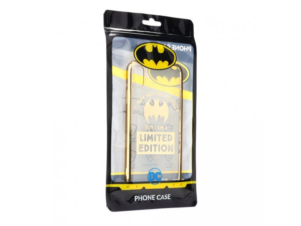 116702 licencovane pouzdro apple iphone xs 5 8 bat girl luxury chrome zlate vzor 005