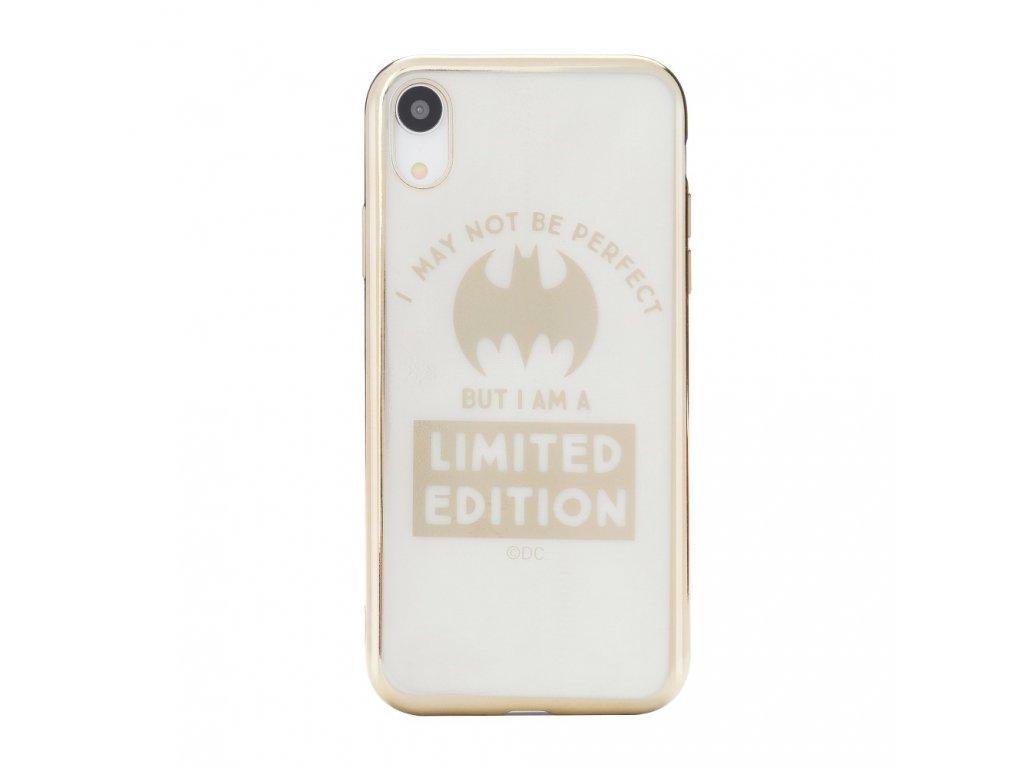 116690 licencovane pouzdro apple iphone xs max 6 5 bat girl luxury chrome zlate vzor 005