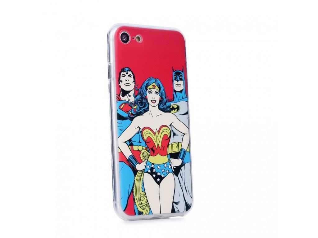 105088 2 licencovane pouzdro apple iphone xs max 6 5 liga spravedlnosti vzor 003 red