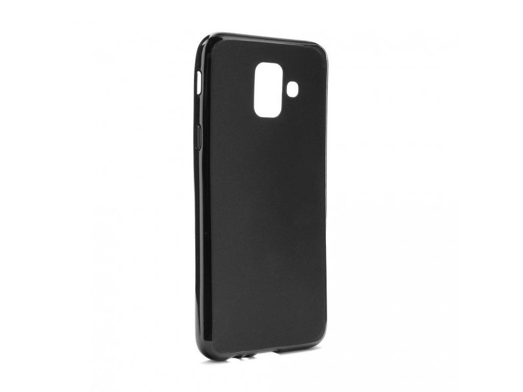 108095 pouzdro back case 0 3mm matt samsung galaxy a6 a6 2018 cerne