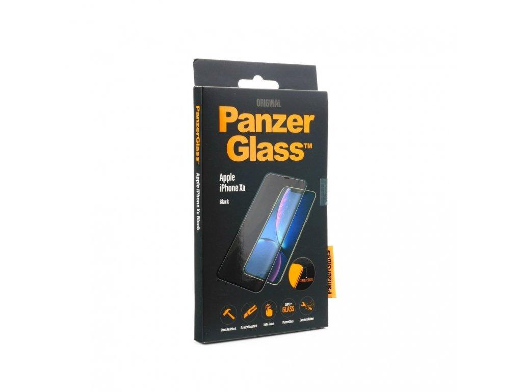 113585 tvrzene sklo panzerglass apple iphone xr black curved
