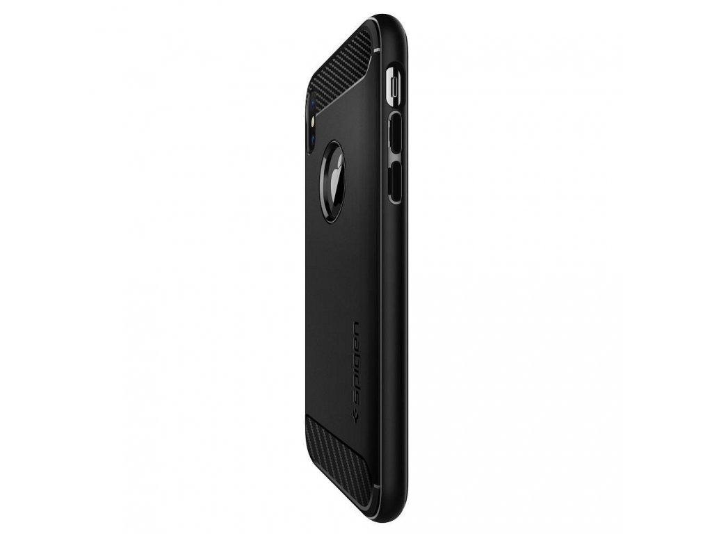 100626 spigen rugged armor apple iphone 6 6s cerne