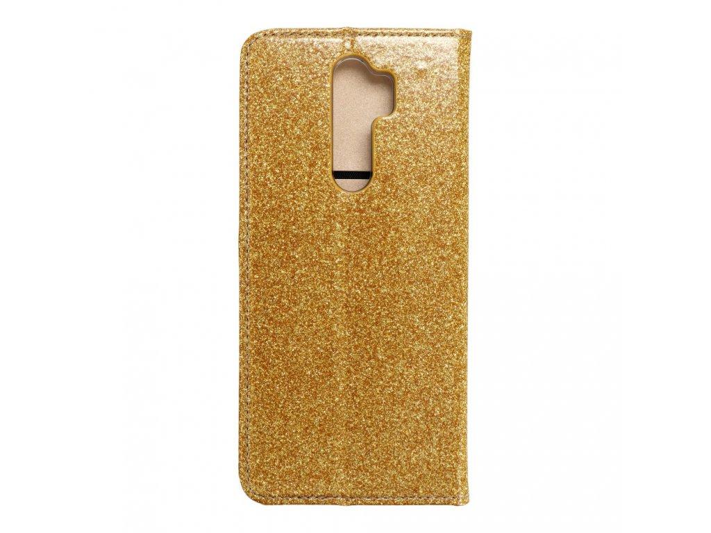 174342 pouzdro forcell shining book xiaomi redmi note 8 pro zlate