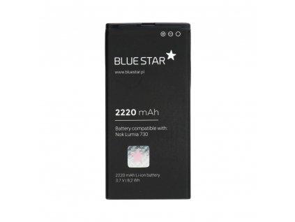 78283 2 baterie 2220 mah li ion blue star premium pro nokia lumia 730 735