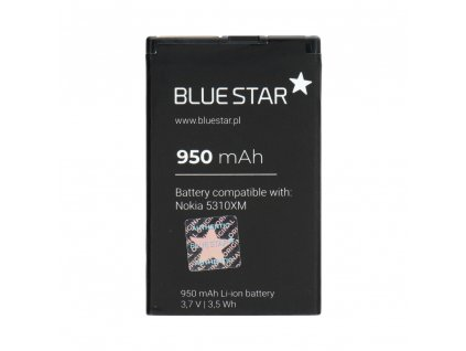 556 baterie blue star nokia 5310 xpress music 6600f 7210s 7310s bl 4ct 950mah bs premium