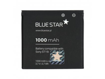 652 baterie blue star sony ericsson u5i u8i x8 sk17i st15i st17i w19i 1000mah