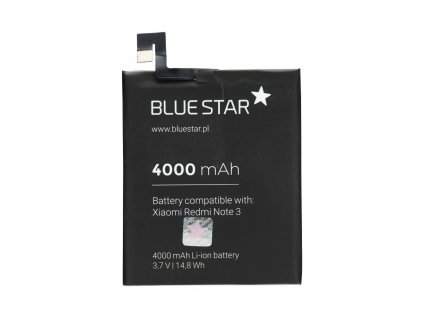 54118 2 baterie blue star xiaomi redmi note 3 4000mah li ion bs bm46