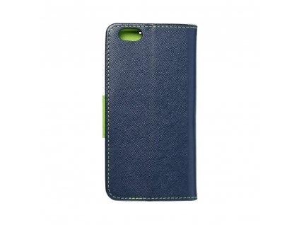 1585 fancy pouzdro book apple iphone 6 modre limetkove
