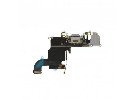 33034 2 flex kabel konektoru nabijeni iphone 6s av mikrofon cerno seda