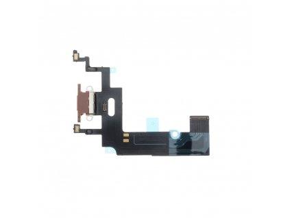 122345 flex kabel s konektorem pro nabijeni eq apple iphone xr zlata ruzova